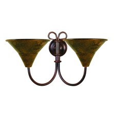 Ancient Wall Light Fixture large tulip