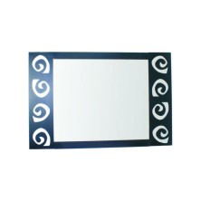 Spiral design Mirror for Bathroom 70cm