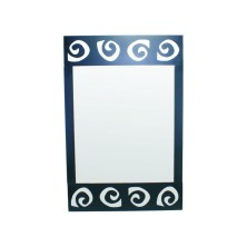 Spiral design Mirror for Bathroom