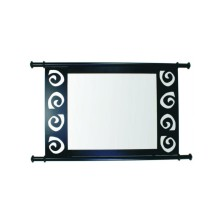 Design vintage Mirror for Bathroom 70cm