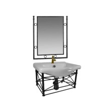 Wrought Iron retro Bathroom Sink
