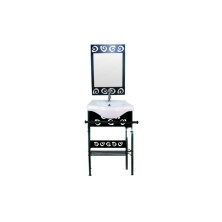Wrought Iron retro Bathroom Vanities