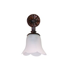 Country Bathroom Light Fittings tulip waves