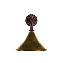 Country Bathroom Light Fittings large tulip