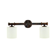 Very old Wall Lamps tulip opal