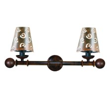 Forged iron Wall Lamps half screen