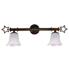 Star-shaped Wall Lamps tulip waves