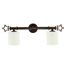 Star-shaped Wall Lamps tulip opal