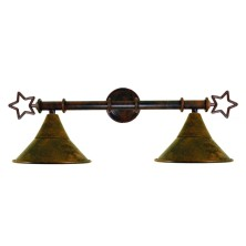 Star-shaped Wall Lamps large tulip