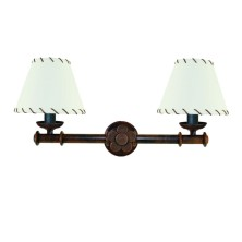 Iron Wall Lamps ivory screen