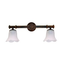 Iron Wall Lamps tulip waves
