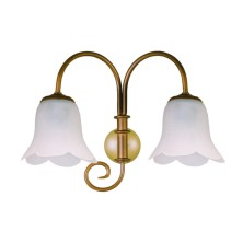 Retro Wall Light Fixture tulip waves