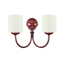 Very old Wall Light Fixture tulip opal