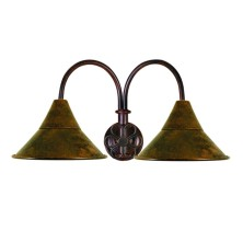 Very old Wall Light Fixture large tulip