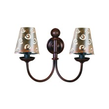 Forged iron Wall Light Fixture half screen