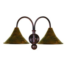 Forged iron Wall Light Fixture large tulip