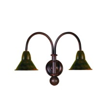 Forged iron Wall Light Fixture small tulip