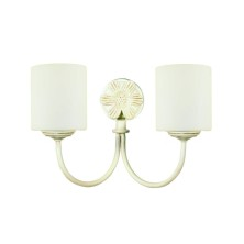 English vintage Wall Light Fixture tulip opal