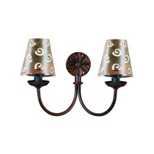 Country Wall Light Fixture half screen