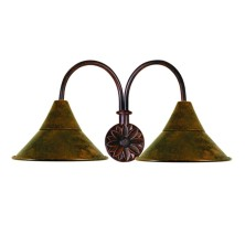 Country Wall Light Fixture large tulip