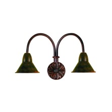 Country Wall Light Fixture small tulip