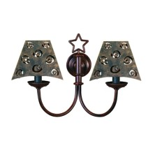 Star-shaped Wall Light Fixture screen