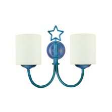 Star-shaped Wall Light Fixture tulip opal