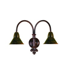 Rustic design Wall Light Fixture small tulip