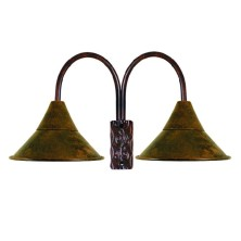 Wrought iron Wall Light Fixture large iron shade