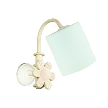English vintage Bathroom Mirror Lights tulip opal